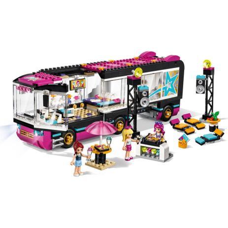 Lego Friends Autobus Za Turneju Pop Zvijezde 41106
