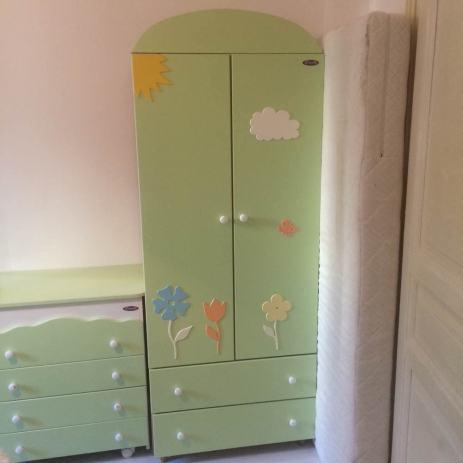 Ormar i komoda za dječiju sobu
