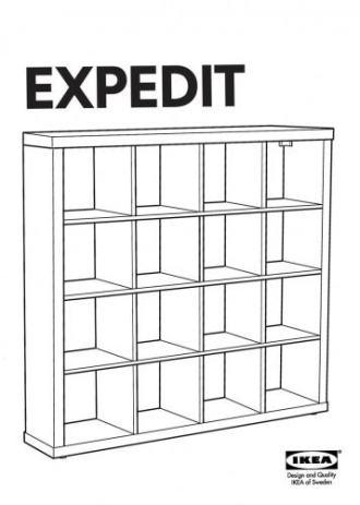 ikea expedit police regal za knjige. Black Bedroom Furniture Sets. Home Design Ideas
