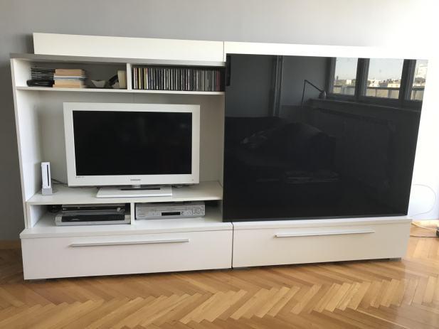 eckregal fernseher perfect vcm tv wand board lowboard wohnwand regal wandschrank schrank tisch. Black Bedroom Furniture Sets. Home Design Ideas