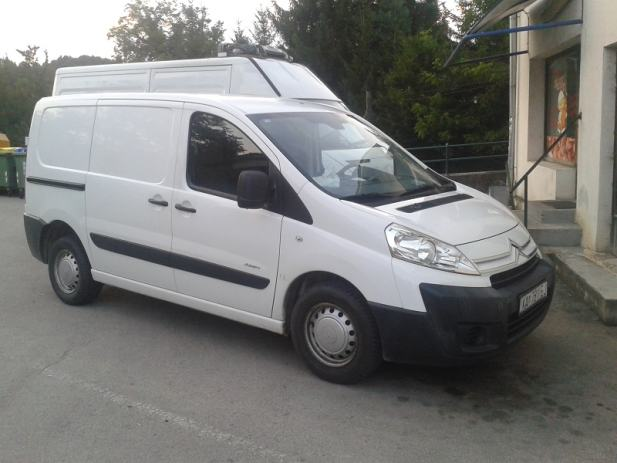 citroen jumpy 1 6 hdi 2009 god. Black Bedroom Furniture Sets. Home Design Ideas