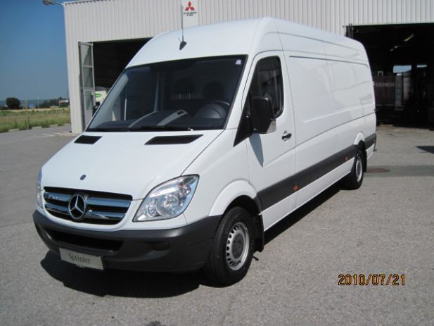 mercedes sprinter 319 cdi maxi 2009 god. Black Bedroom Furniture Sets. Home Design Ideas
