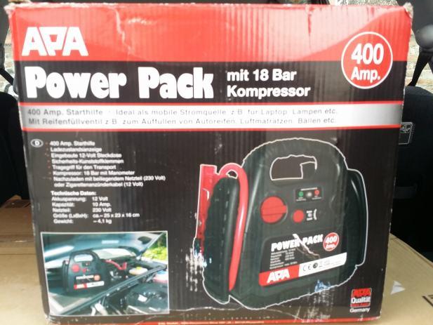 prijenosni akumulator starter apa power pack 12 v. Black Bedroom Furniture Sets. Home Design Ideas