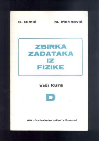 ZBIRKA ZADATAKA IZ FIZIKA DIMIC EBOOK