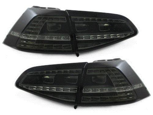 VW GOLF 7 2013- LED Stražnja Svjetla GTI Izgled Crni Dim