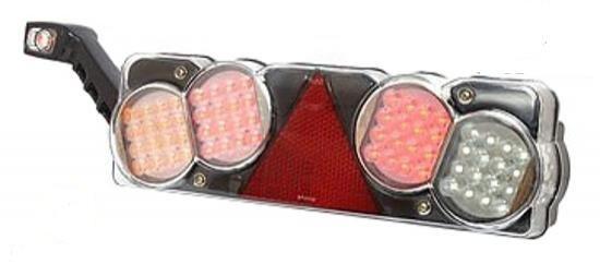 LED štop lampa - lijeva - 4 polja