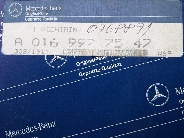 Mercedes a0169977547 original semering made in germany for Mercedes benz made in germany