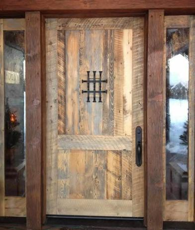 Ulazna Masivna Rustikalna Vrata 220x100cm