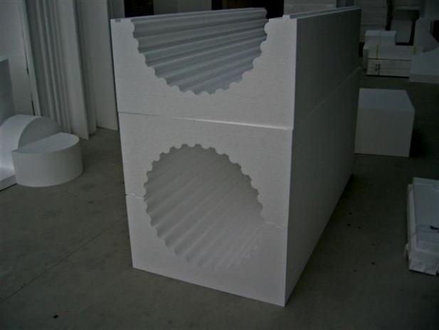 OPLATA, profilirana oplata kalupi za beton cnc izrezivanje stiropora
