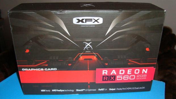 XFX AMD Radeon RX 560 2gb GDDR5 /1295MHz /16CU/ 1024 SP/ DX12 Prodajem