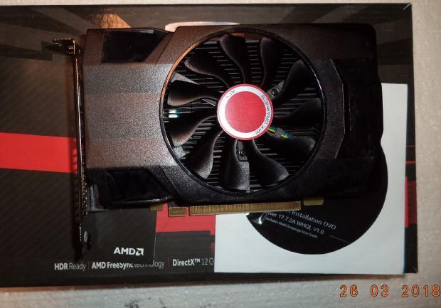 XFX Radeon RX 560 Single Fan 2GB GDDR5 128-bit grafička kartica