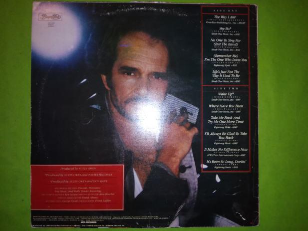 LP-Merle Haggard – The Way I Am