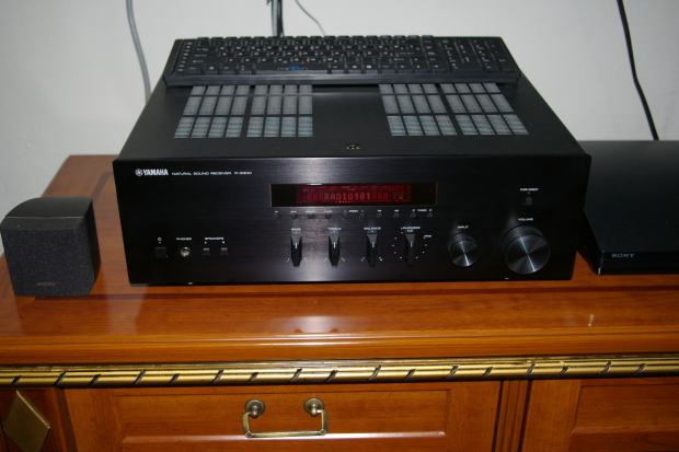 yamaha r s300 stereo receiver poklon novi pyle zvu nici. Black Bedroom Furniture Sets. Home Design Ideas