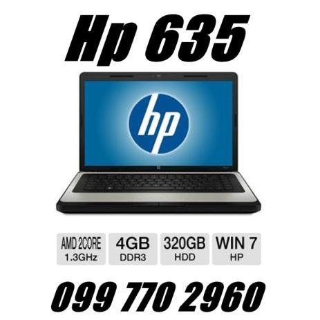 Hp 635,AMD dual core 1,3GHz,4gb,320HDD-a,ATi Radeon 695kn