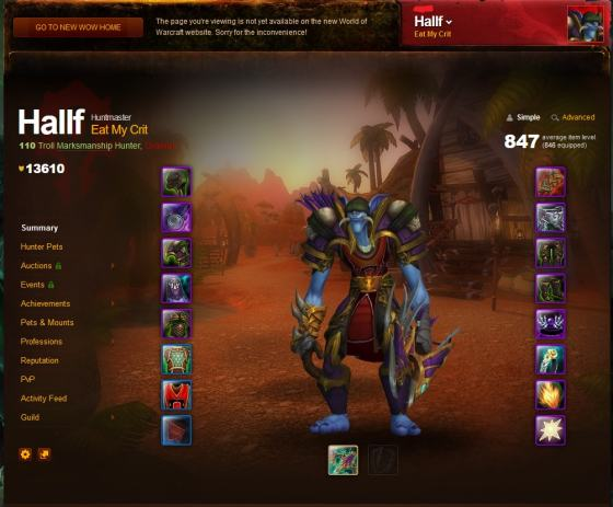 World of Warcraft - Blizzard account