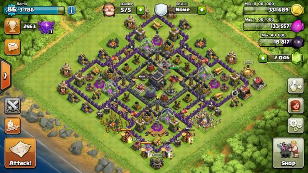 clash of clans th9 account. Black Bedroom Furniture Sets. Home Design Ideas