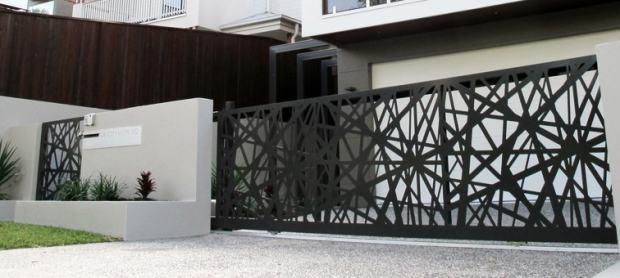 Moderne Ograde Laserom Rezani Paneli Jedinstveni Dizajn