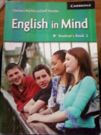 Engleski-English in Mind, Students book 2