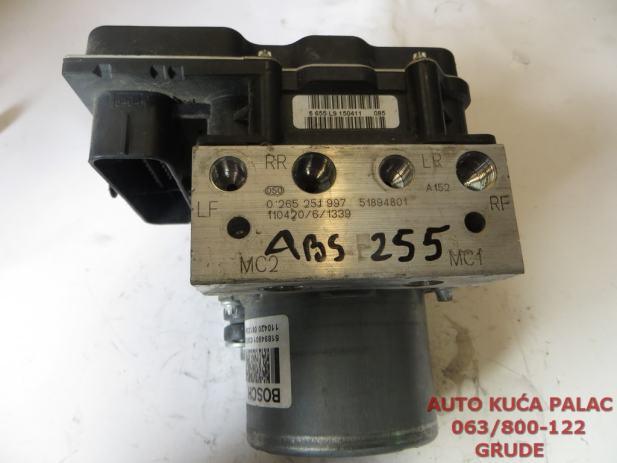 Abs Pumpa Fiat Grande Punto 2009 0265251997 51894801 Abs255