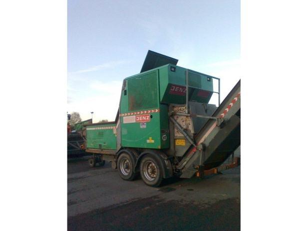 Jenz sitnilica za drvo i otpad, drobilica biomase i otpada