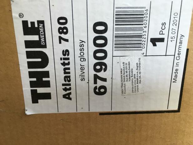 krovni kofer thule atlantis 780. Black Bedroom Furniture Sets. Home Design Ideas