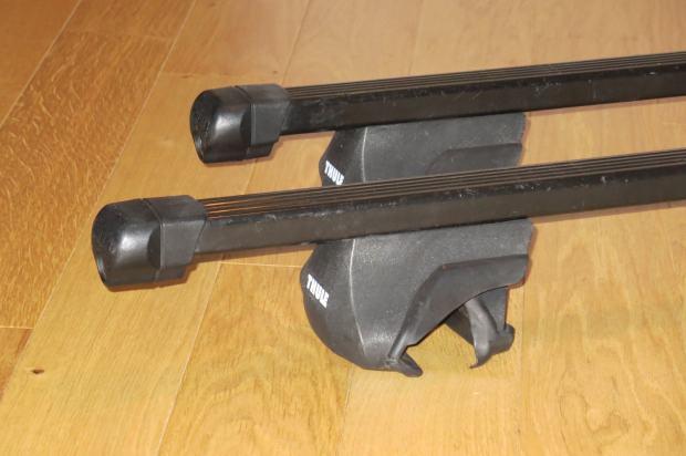 Thule 755 rapid system irina 120 cm za automobil s uzdu nim ipkama for Thule 1254