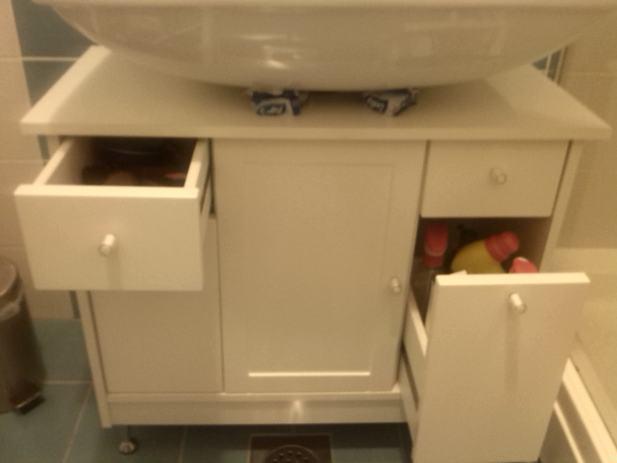 Kupaonski ormarić / ormarić za ispod umivaonika - rabljeni