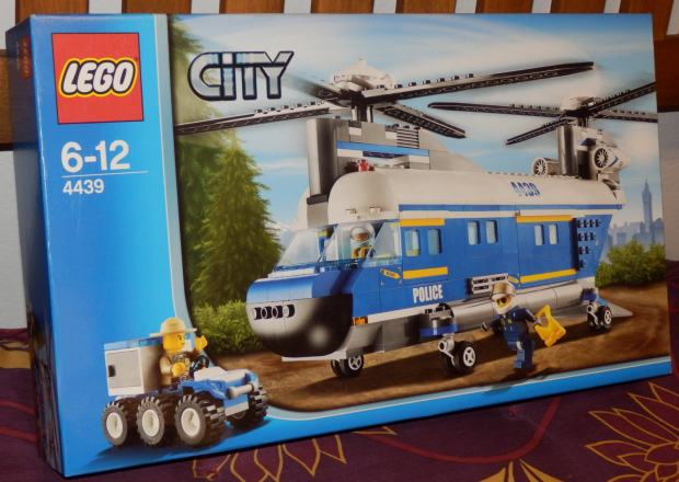 Lego City Heavy-Duty Helicopter 4439 - The Best Helicopter Of 2018