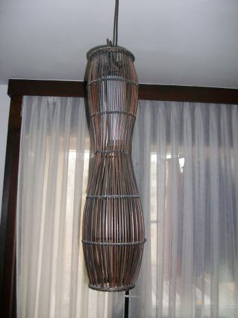 Unikatni luster od bambusa