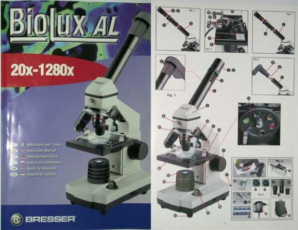 Mikroskop bresser biolux al usb elektronski okular nekorišteno