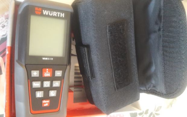 Wurth wdm laserski metar daljinomjer do m