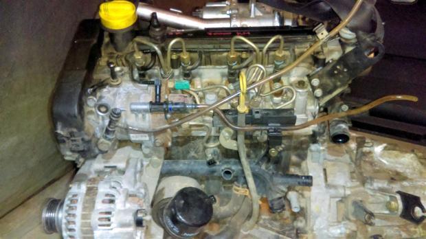 Renault Kangoo 1 5 dci MOTOR 1 5 dCi K9K 60 kw