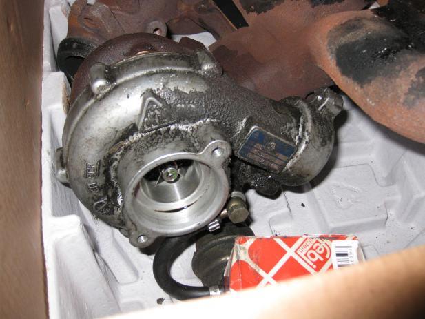 Turbina Peugeot Boxer 2 5 Tdi  1998  God