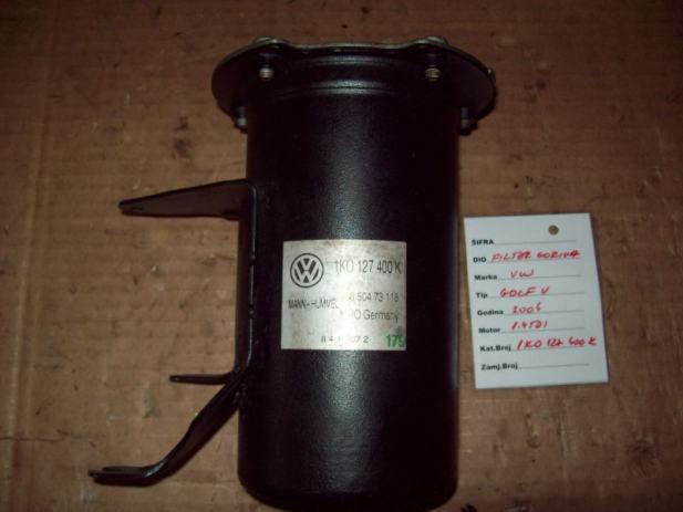 vw golf v 1 9 tdi filter goriva 1k0127400k. Black Bedroom Furniture Sets. Home Design Ideas