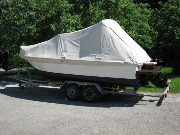 cormorant sportboot mit trailer m. Black Bedroom Furniture Sets. Home Design Ideas