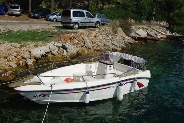 Elan 15cc fisherman, Mercury 60ks