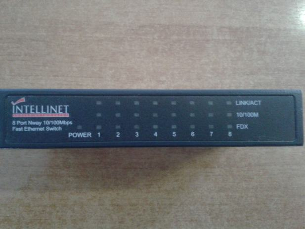 Intelinet mini 8 port n way 10 100 mbps fast ethernet switch - 8 port fast ethernet switch ...