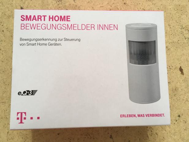 telekom smart home senzor pokreta eq 3 u rasponu od 12m. Black Bedroom Furniture Sets. Home Design Ideas