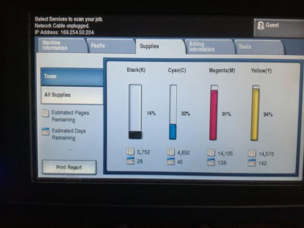 Xerox Workcentre 7545 Color A4/A3 FOTOKOPIRNI UREĐAJ HITNO