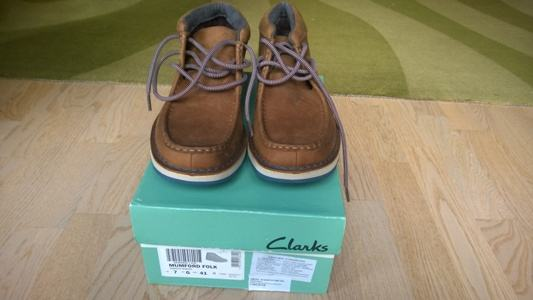 special for shoe 100% high quality outlet store sale Clarks Mumford Folk muške cipele br. 41
