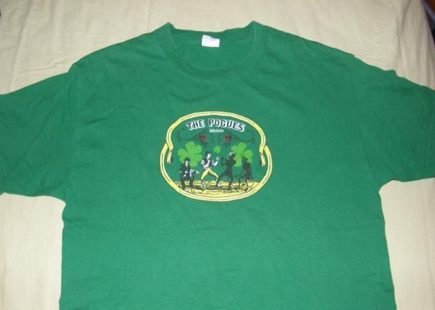 POGUES majica, L / XL, celtic punk t-shirt shane macgowan