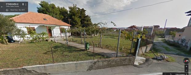 Gra evinsko zemlji te zadar 400 m2 for Gartengestaltung 400 m2