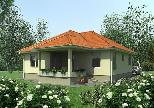 Niskoenergetska kuća: Montažna kuća, 128 m2, Ela