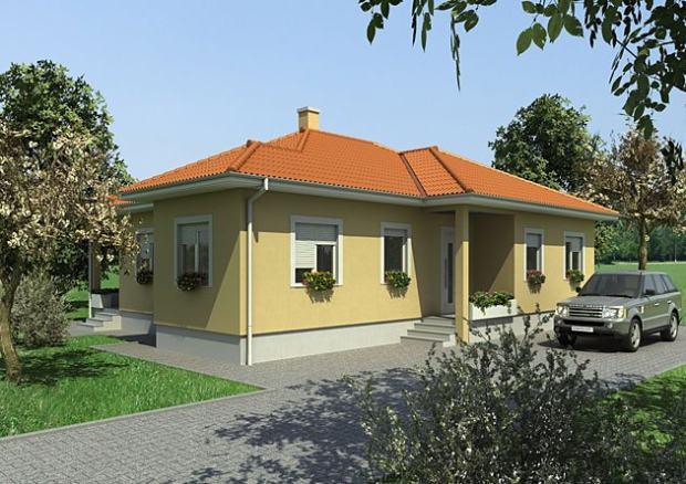 Niskoenergetska kuća: Montažna kuća, 149 m2, Bela