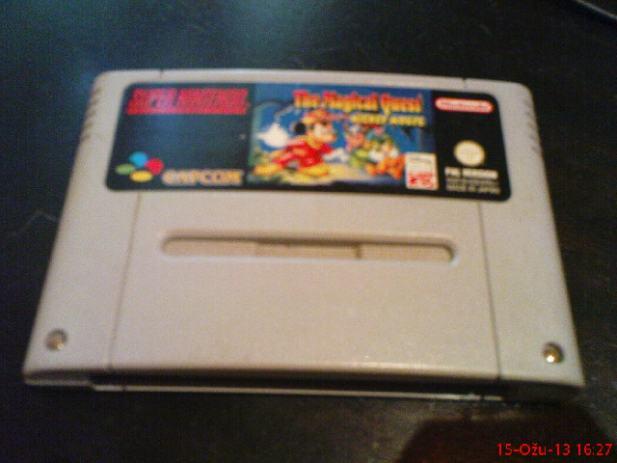 Super Nintendo SNES original igra Mickey Mouse The Magical Quest