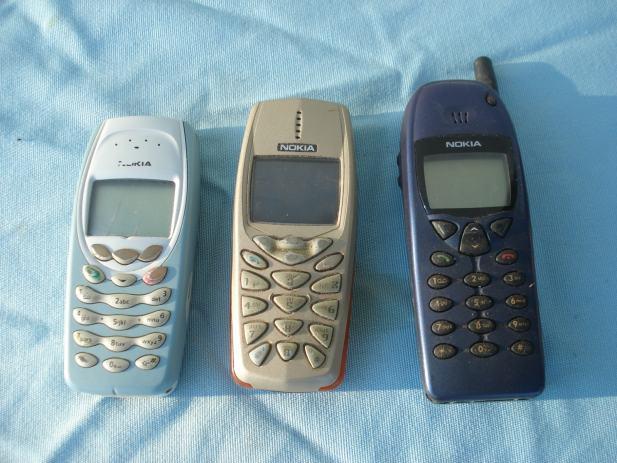Wszystkie nowe 3 stare nokie KE83