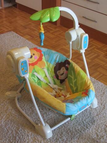 Elektricna ljuljacka za bebe fisher price for Espejo retrovisor bebe fisher price