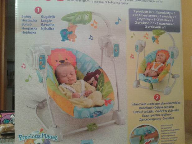 Ljulja ka za bebe fisher price for Espejo retrovisor bebe fisher price