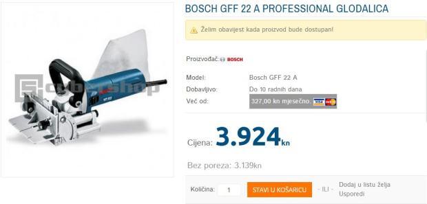 bosch gff 22 a professional glodalica nova izdavanje r1. Black Bedroom Furniture Sets. Home Design Ideas