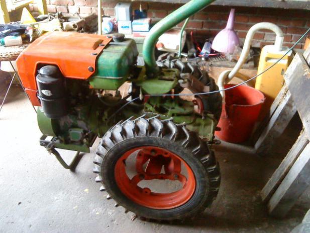 MOTOKULTIVATOR IMT 509, 14 ks, diesel